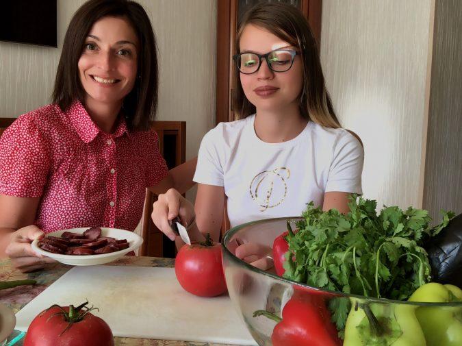Odessa online cooking class