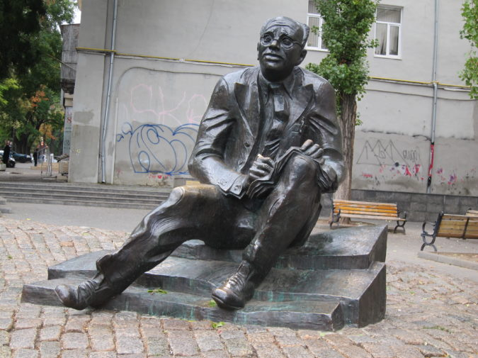 Odessa's famous musicians writers Isaac Babel | Odessa Walks