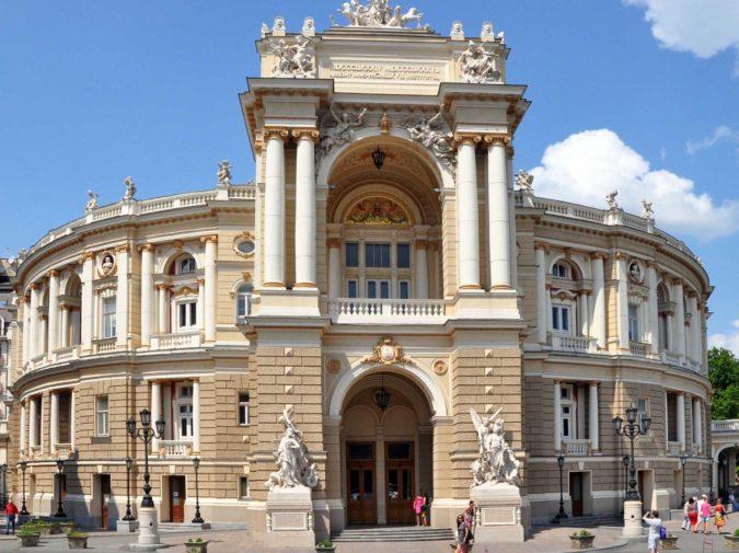 Odessa Opera Theater Tour | Odessa Walks