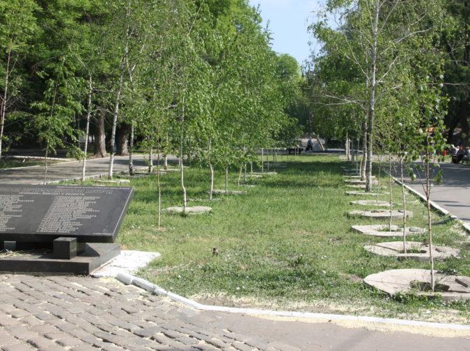 Odessa Holocaust memorial